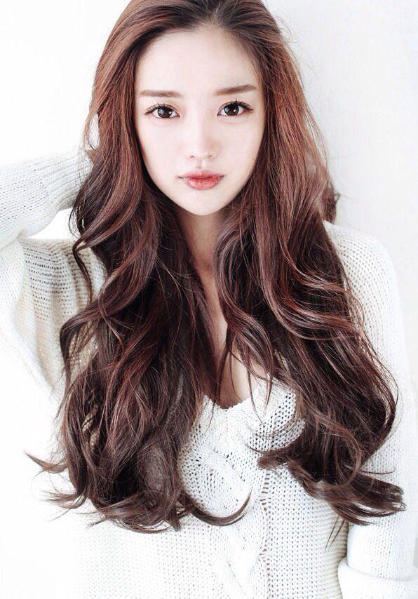 Sienazhang Ulzzang Hair Asian Hair Long Hair Styles