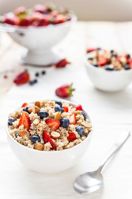 Thrive Forward With High Protein Breakfast Quinoa Mixed