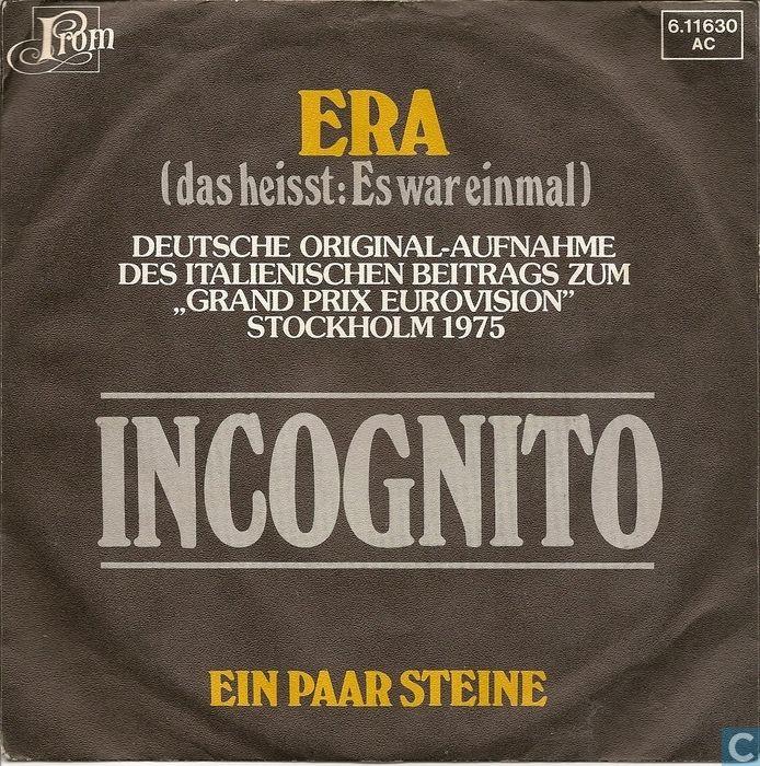 """Tysk version af det fantastiske bidrag """"Era"""" (Italien 1975)"""