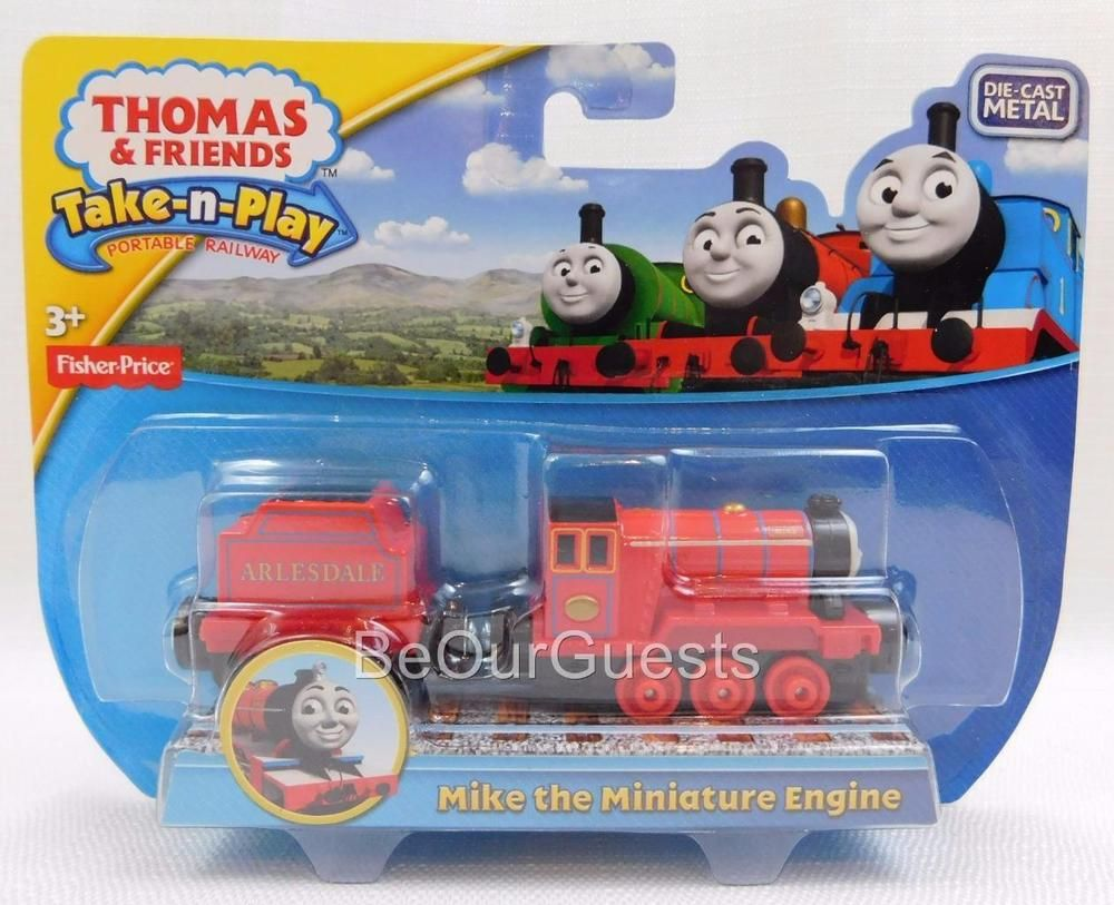 101 best thomas the tank engine the movie images on pinterest thomas friends take n play mike the miniature engine die cast metal train