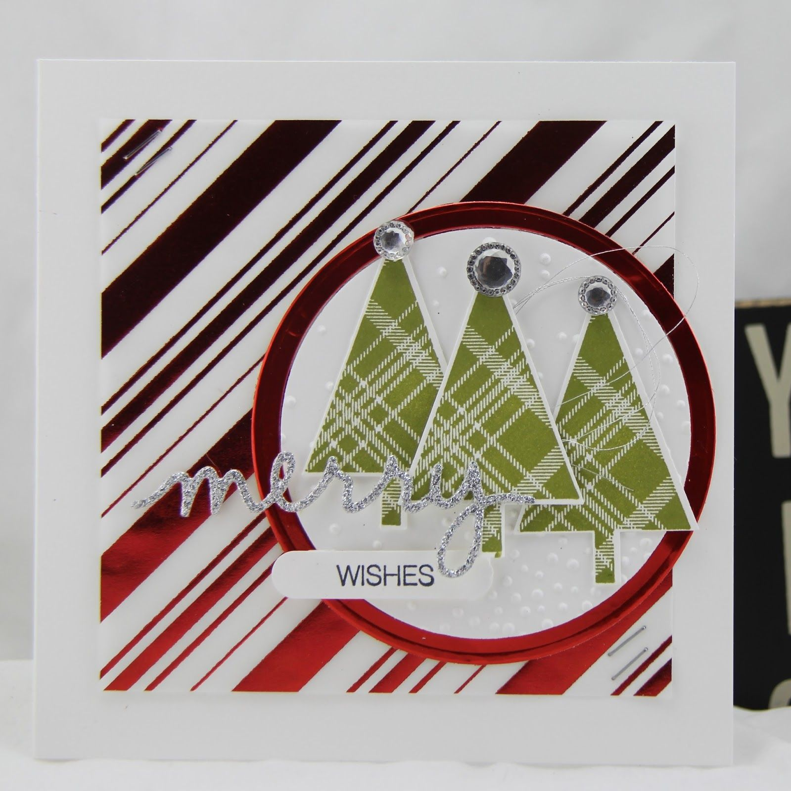Stampin Up UK Demonstrator Zoe Tant blog: A Christmas Card Challenge at Moving Along with the Times MAWTT