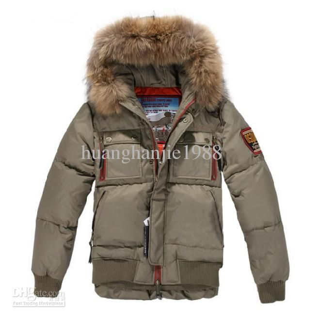 Wholesale Men Jacket - Buy Men's Fur Collar Hat Down Jacket ...
