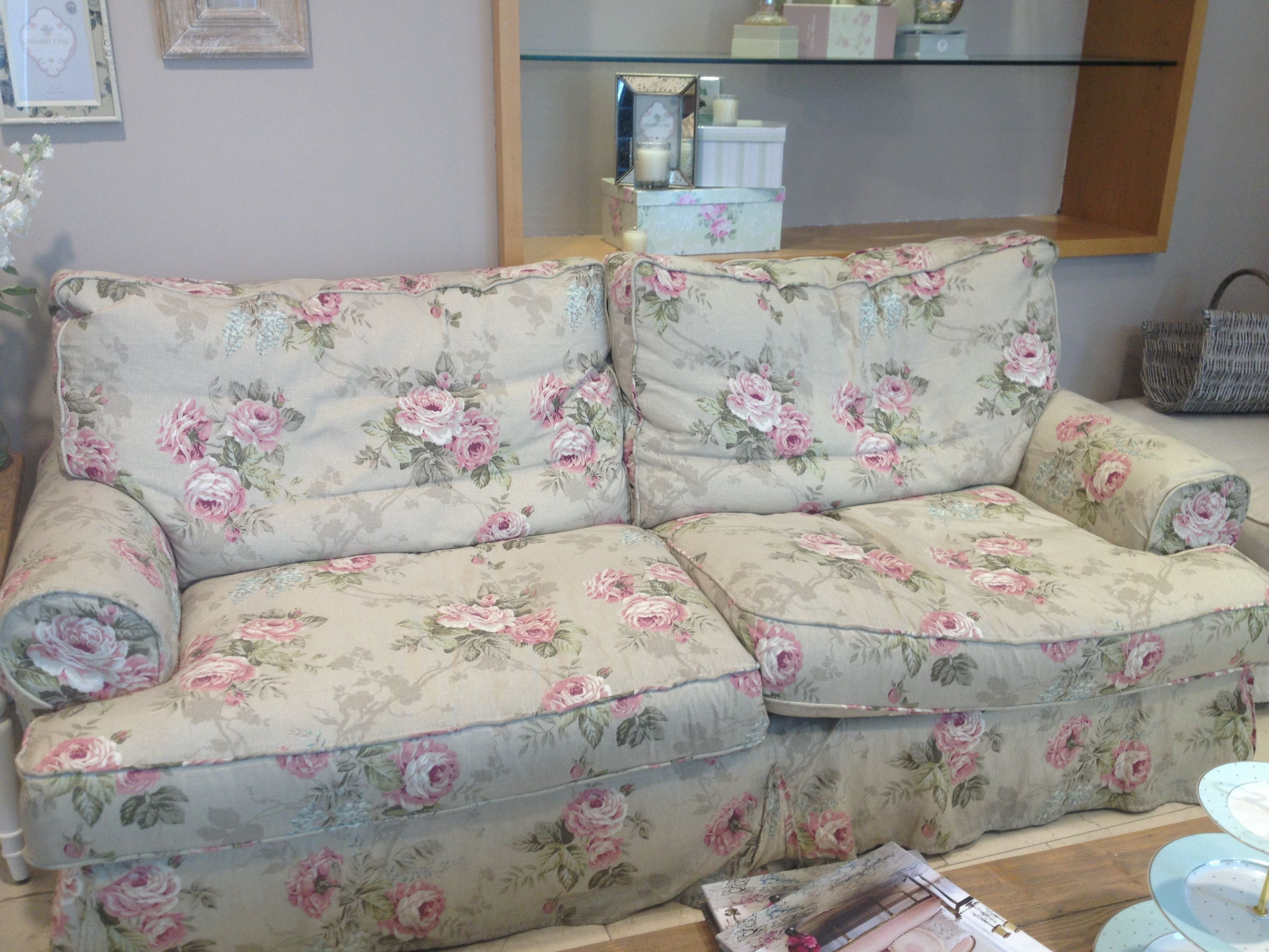 Shabby Chic Sofa House of Fraser | Country living | Pinterest ...