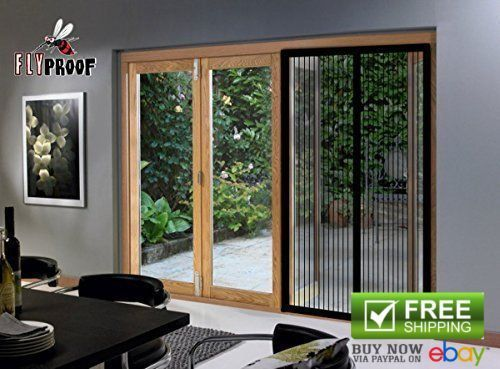 Home Hardware Magnetic Screen Doors Mesh Curtain 72w X 80h Sliding