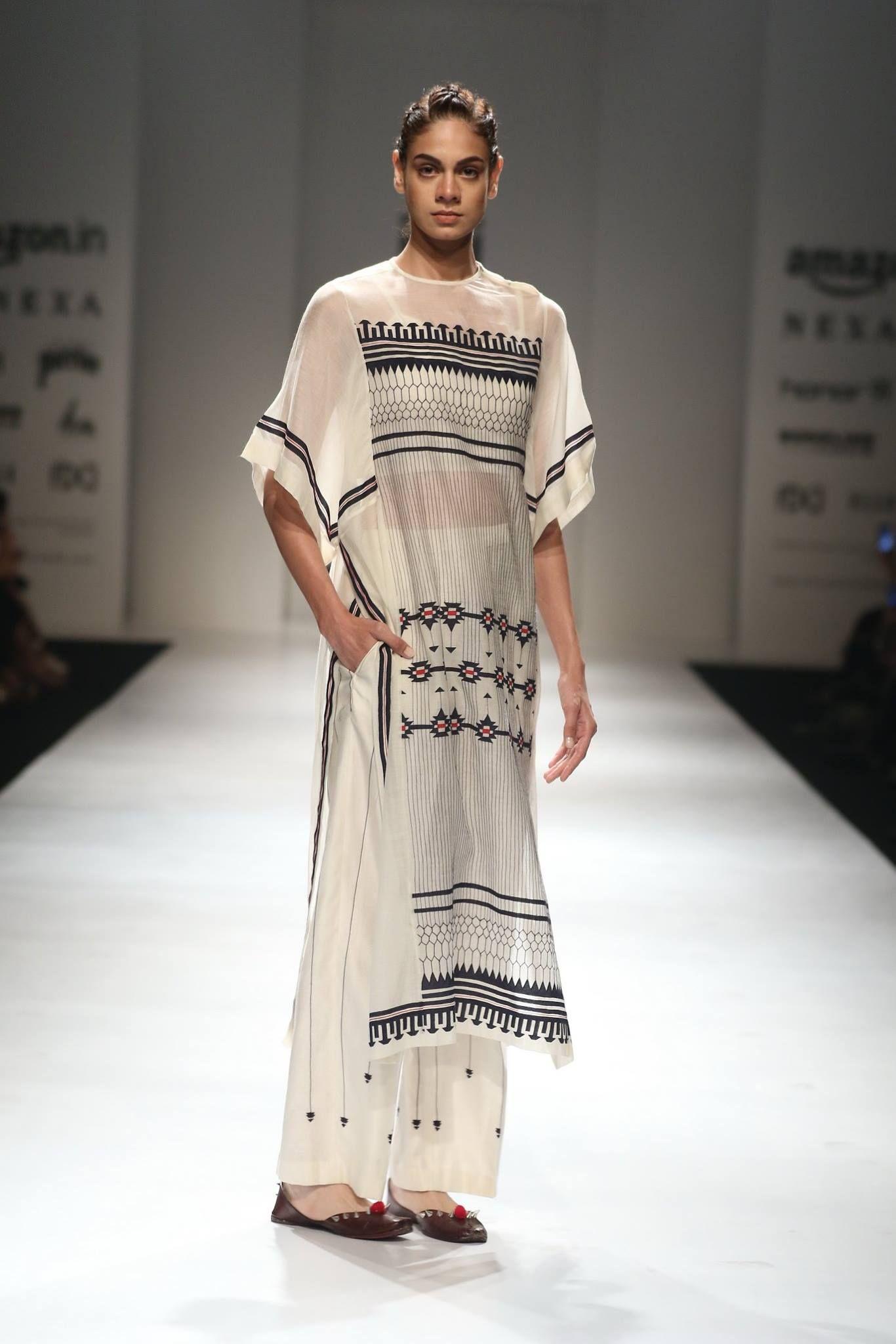 8f2912a0cea6 Ikai by Ragini Ahuja - Amazon India Fashion Week - SS 18 - 2