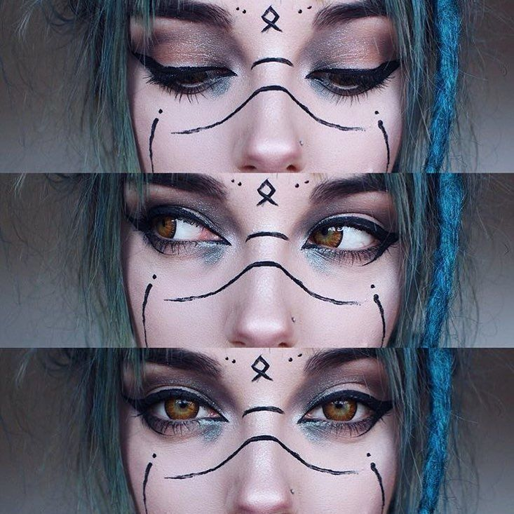Best Inspiration Mate Makeup :   Witchy makeup    -Read More – – #Inspiration …