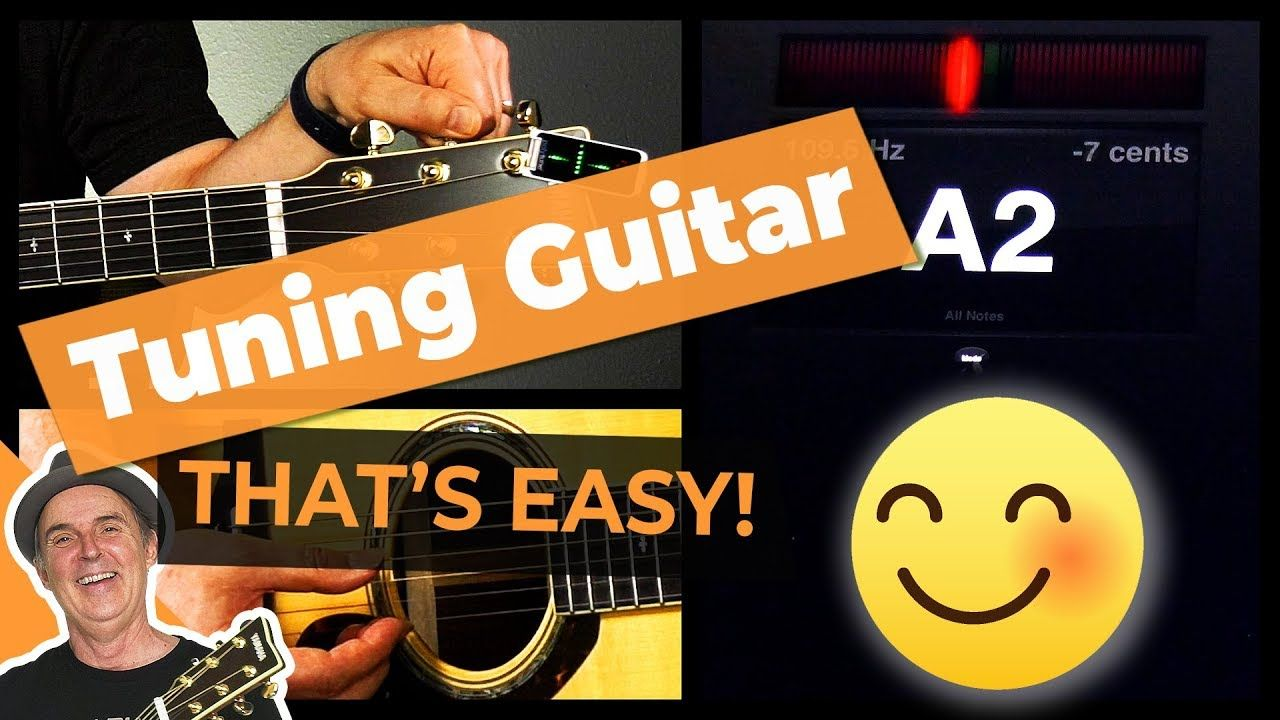 How to Tune a Guitar With a Tuner for Beginners [Quick
