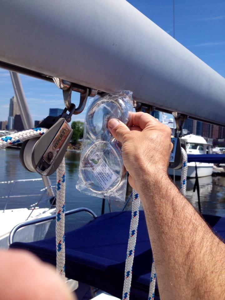 Capt. Don Boom Brake installation | Sailing | Boating license, Deck boat, Sailing lessons