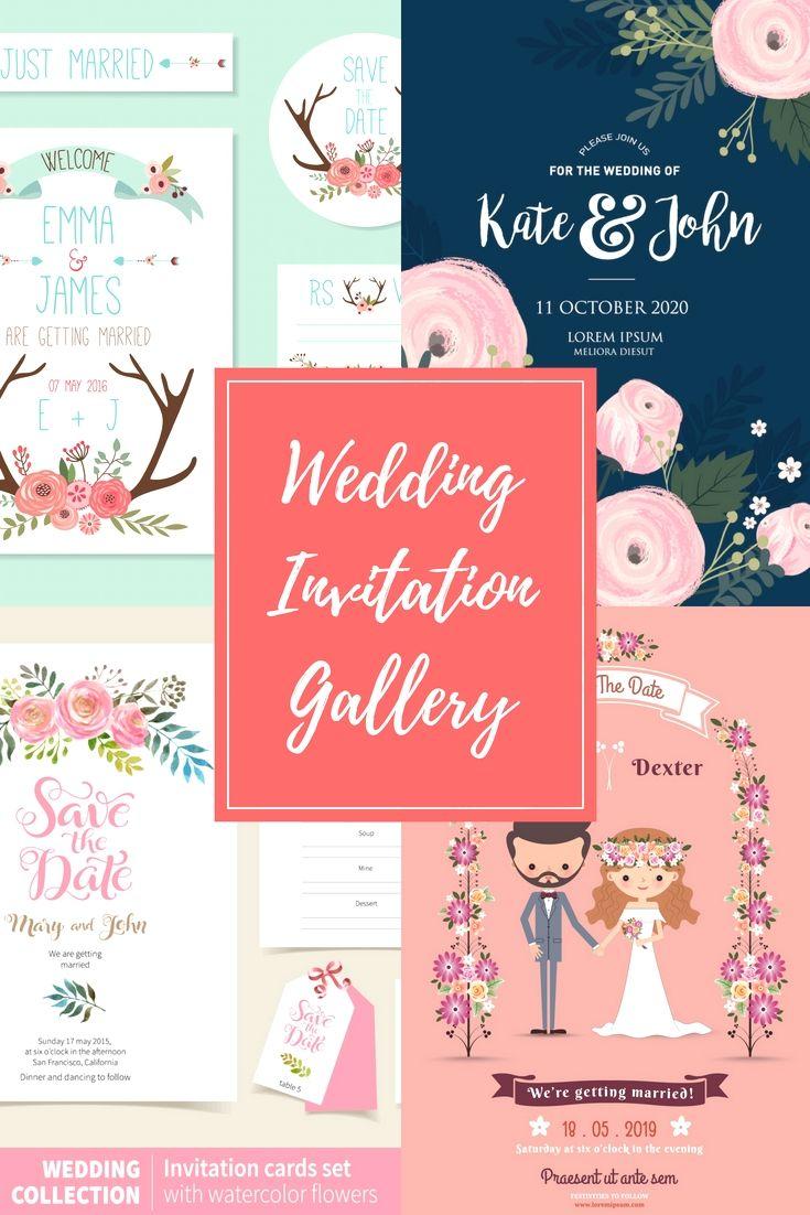 Elegant And Professional Wedding Invitations Design Template Online ...