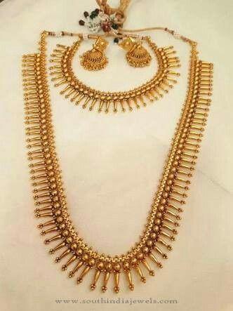 Kerala Jewellery Indian Wedding Design Temple Designs Jewelry Gold Model