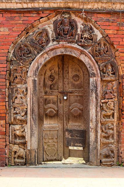 i bet this door has gotten lots of use (Patan, Nepal)