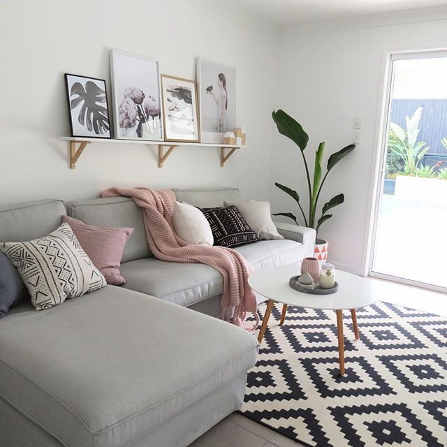 Conexao Decor Conexaodecor Preto E Branco Na Decoracao No Blog Living Room Grey CouchWhite