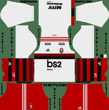Adidas Flamengo Kits 2019 2020 Dream League Soccer Kits In 2020 Soccer Kits Soccer League
