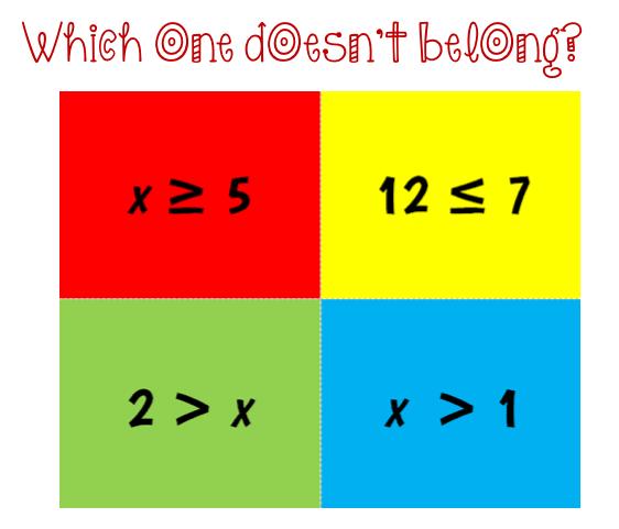 6th Grade Unit 2 Intro To Algebra Part 4 Inequalities Math Expressions Algebra Inequality