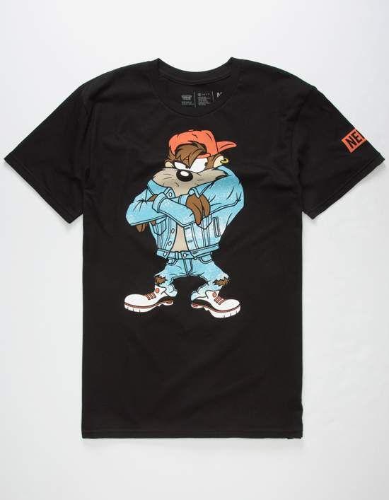 8f0d1fc67 NEFF x Looney Tunes 90s Taz Mens T-Shirt | Skate apparel | 90s ...
