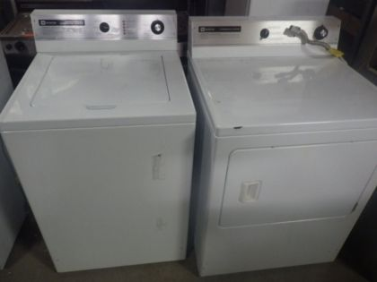 Maytag Commercial Washer And Dryer Set Big Reuse