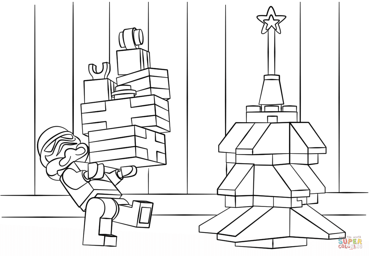 Lego Star Wars Clone Christmas Super Coloring Lego Coloring Pages Christmas Coloring Pages Lego Coloring