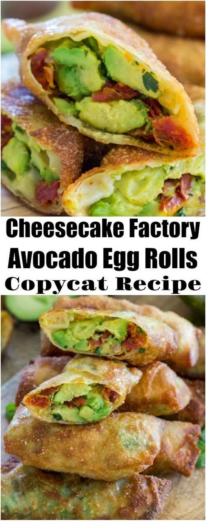 Cheesecake Factory Avocado Egg Rolls Copycat Recipe | Avocado Recipes - #Avocado #Cheesecake #Copycat #Egg #Factory #recipe #Recipes #Rolls #cheesecakefactoryrecipes