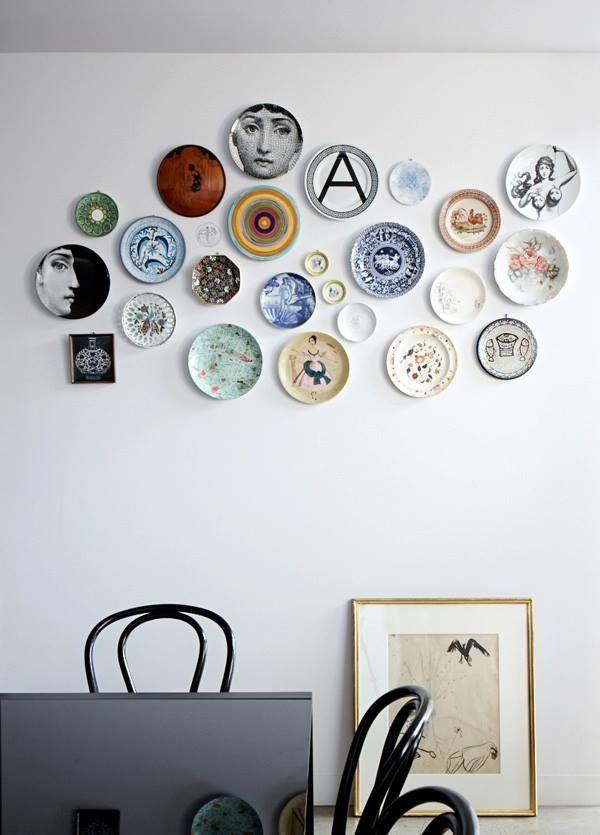 Platos decorativos deco platos de pared decorar - Platos decorativos pared ...
