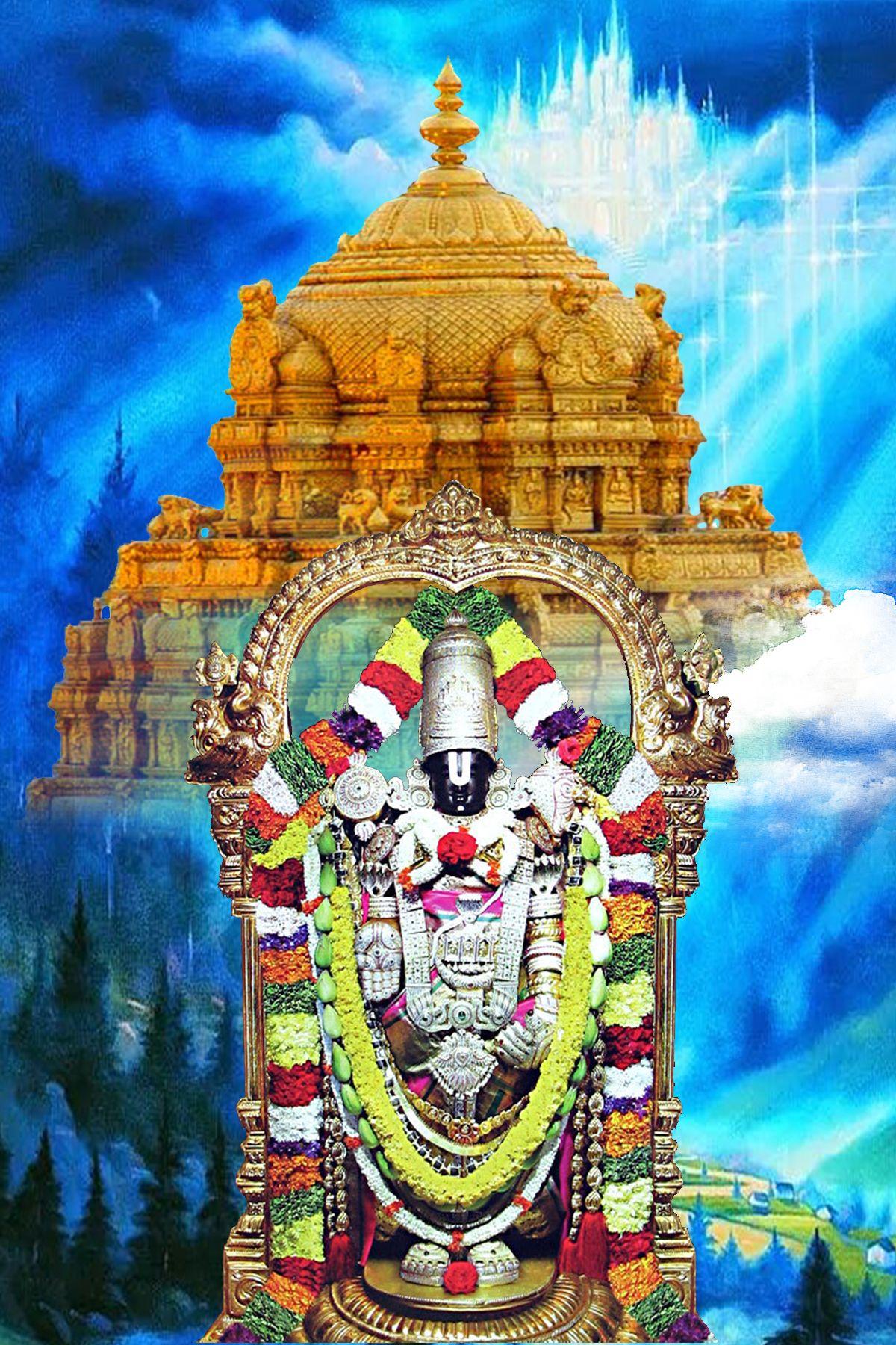 Pin by chandra sekhar on balaji Lord vishnu wallpapers
