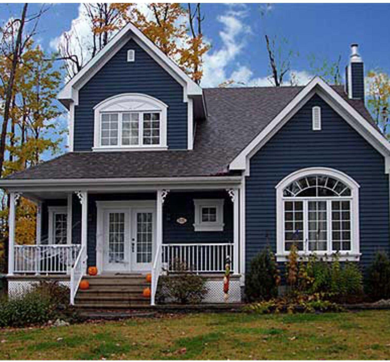 Exterior House Colors: Maison, Maison Americaine, Maison