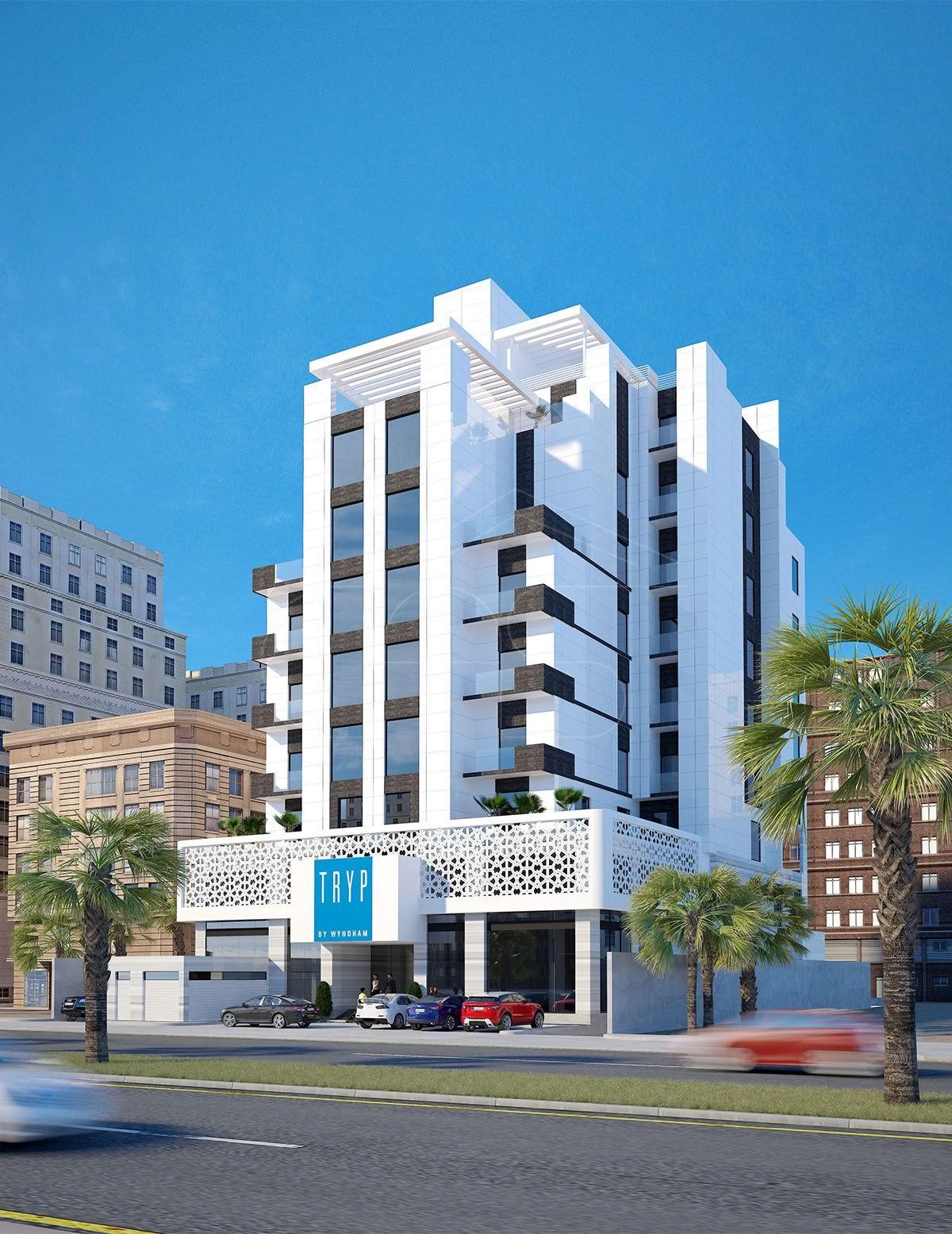 Olaya Hotel Exterior Design Al Khobar Saudi Arabia Hotelexteriordesign