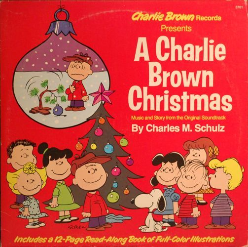 Charles M Schulz A Charlie Brown Christmas Lp