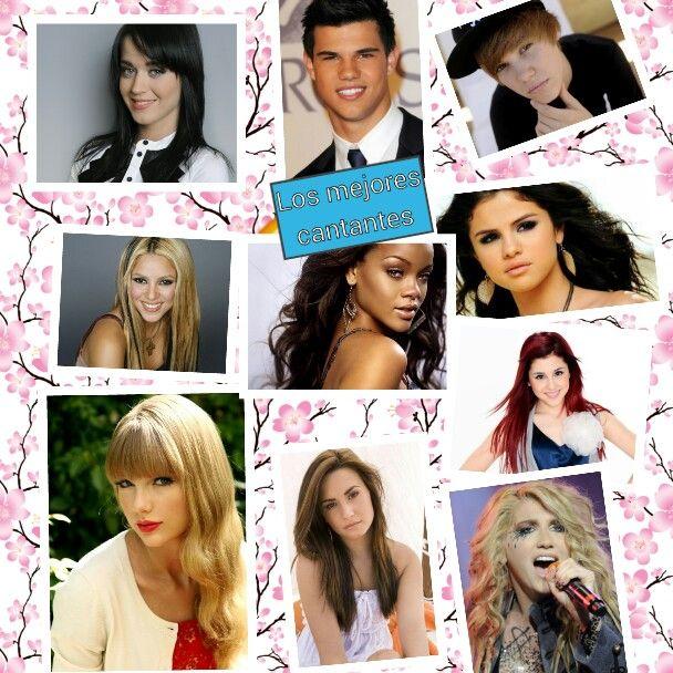 Los mejores cantantes