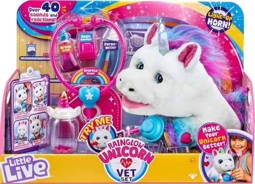 Little Live Pets Rainglow Unicorn Vet Set Little live