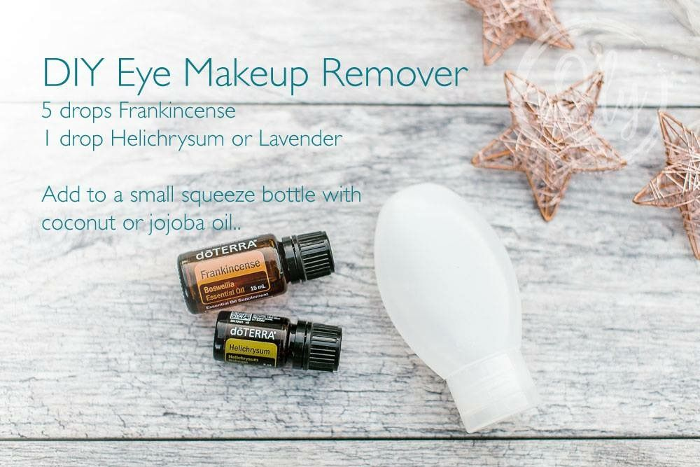 Eye Makeup Remover with EO Makeup remover essential oils