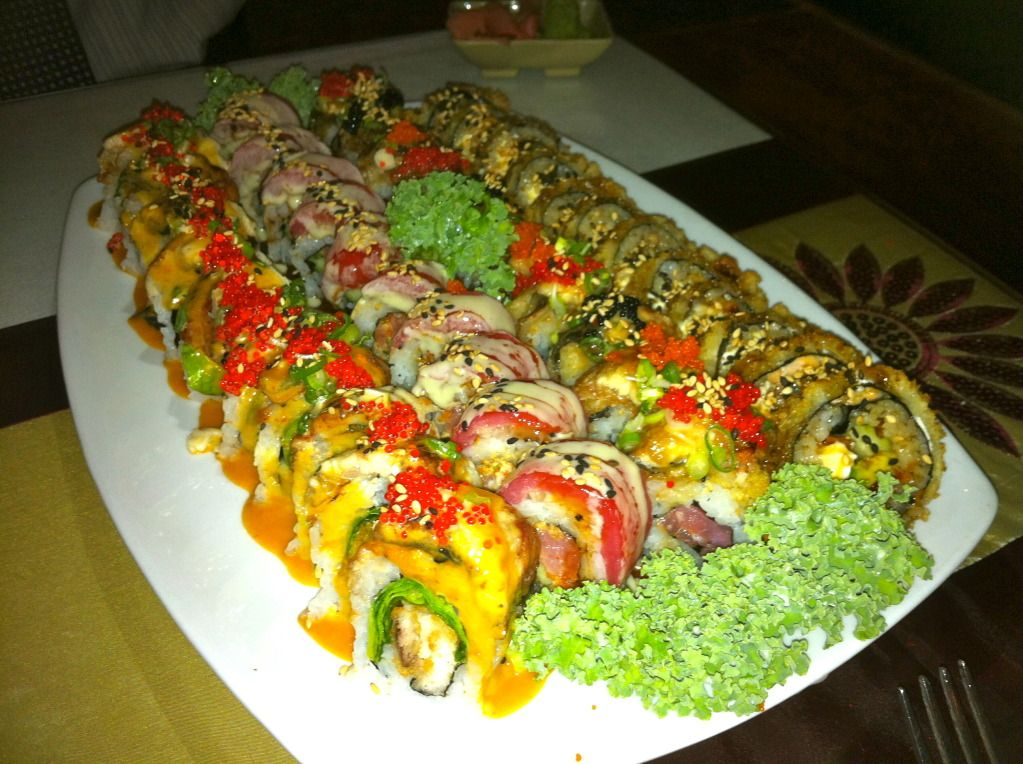 Delicious Sushi in St. Pete from Rain Japanese Sushi Bar