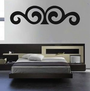 Border Wall Decal F63