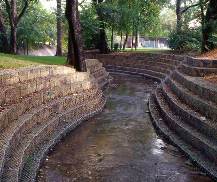 craig olden permanent retaining wall systems - Gabion Retaining Wall Design