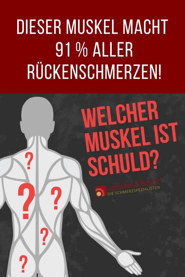 Photo of Rückenschmerzen: Dieser Muskel ist Schuld!