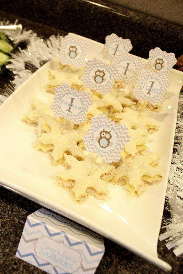Photo of Ideas de la fiesta de cumpleaños del búho del país de las maravillas de invierno «Muvy Foto 1 de 39 | Catch My Party