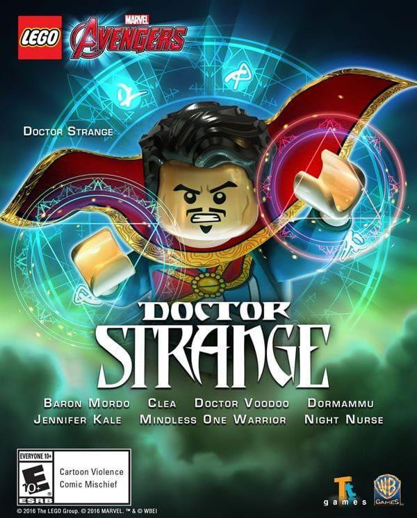 LEGO Marvel Avengers - Doctor Strange & Character Level Pack ...