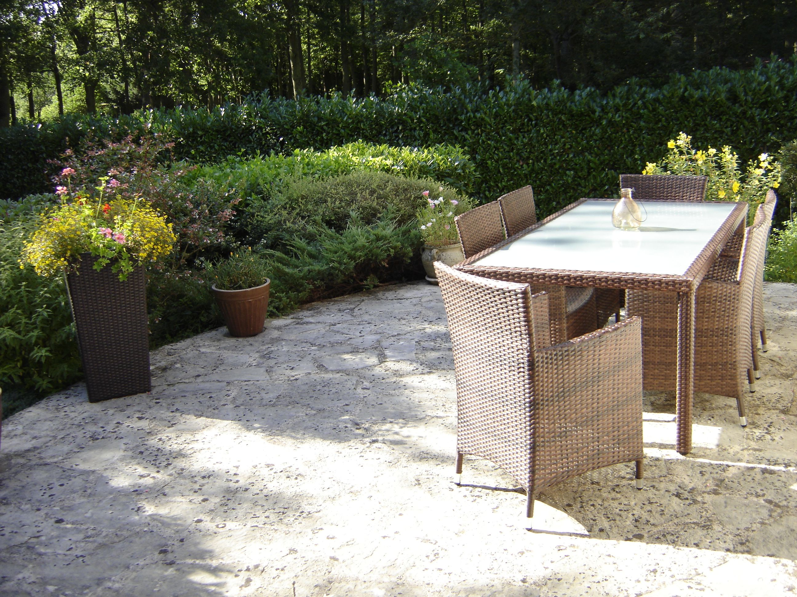 Table De Jardin 6 Places En R Sine Tress E Arezzo Http Www  # Table De Jardin Arezzo