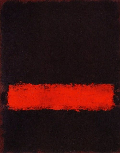http://www.GraphicDesignNYC.net Abstract Art Painting - Mark Rothko. This is wonderful (if you don't know why ask me.)