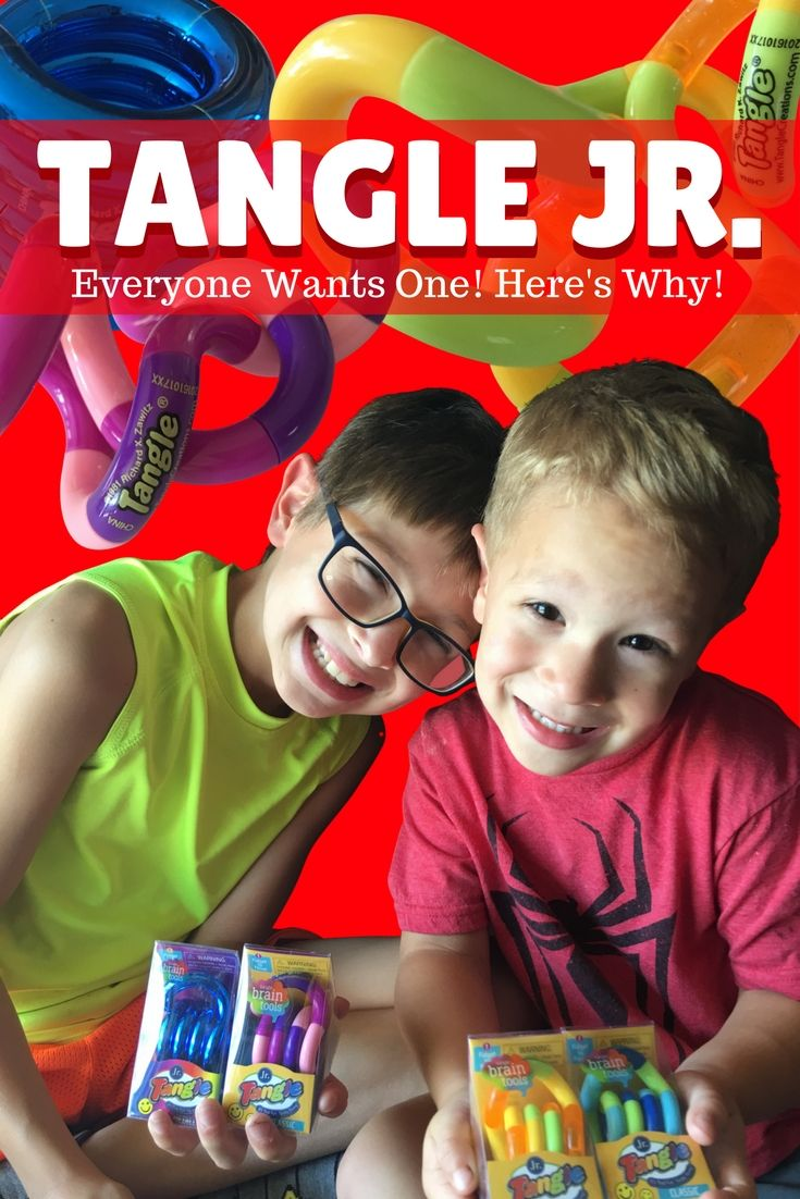 How Do You Tangle A Different Sort Of Fidget Toy Kids