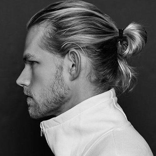 The Man Ponytail Ponytail Styles For Men Men S Hairstyles Haircuts 2020 Mens Ponytail Hairstyles Man Ponytail Growing Long Hair Men