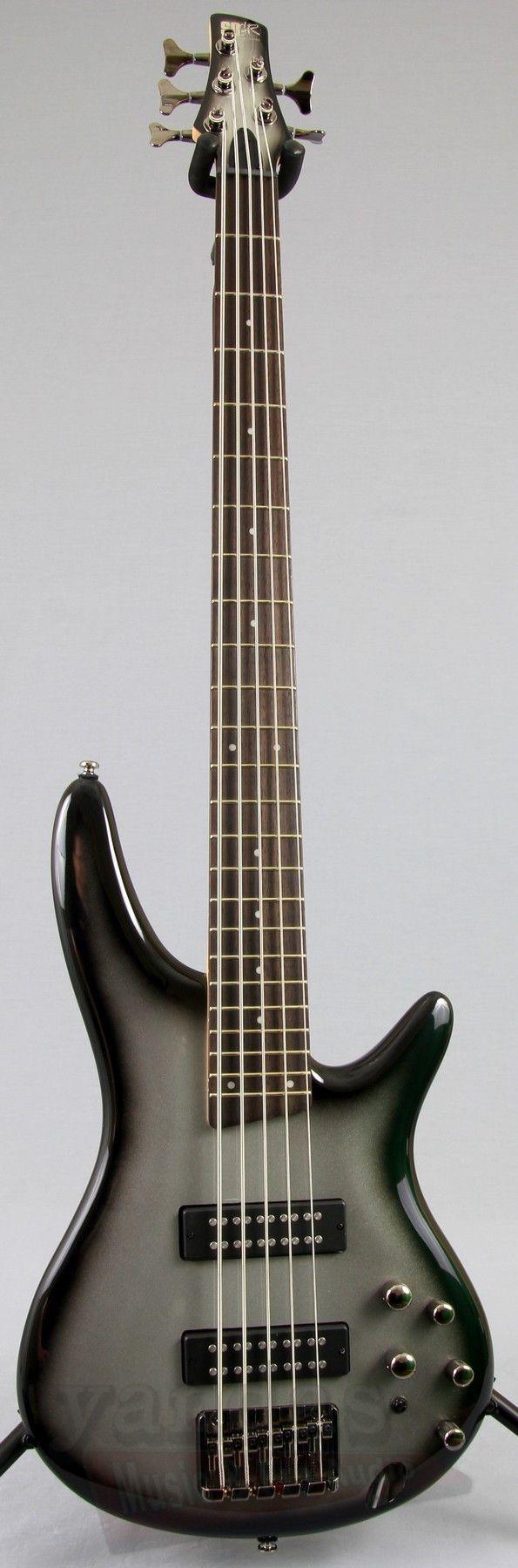ibanez sr305e 5 string bass guitar iron pewter. Black Bedroom Furniture Sets. Home Design Ideas