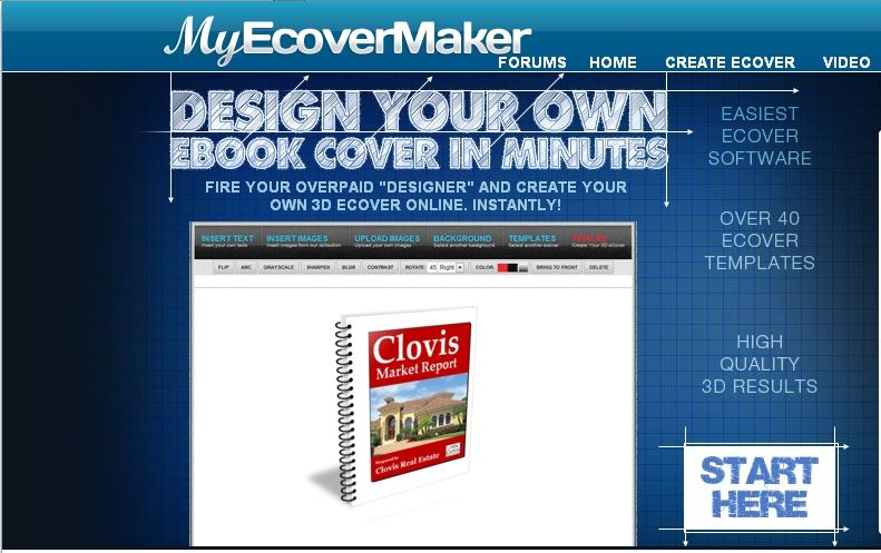 Design Your Own Ebook Cover Software Free To Use With Over  Different Ecover Templates