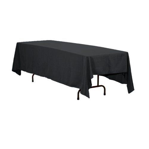 LinenTablecloth 70 x 120-Inch Rectangular Polyester Tablecloth Black LinenTablecloth http://www.amazon.com/dp/B008TLBPHE/ref=cm_sw_r_pi_dp_vW09ub16T4BVQ