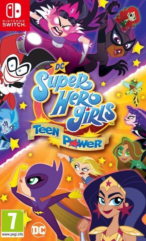 DC Super Hero Girls: Teen Power With FREE Sticker Sheet & Notebook (Switch)