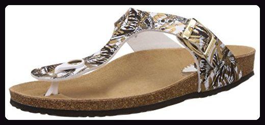 Shoes_Bio 3, Damen Zehentrenner, Schwarz (2000 Negro), 37 EU (6.5 Damen UK) Desigual