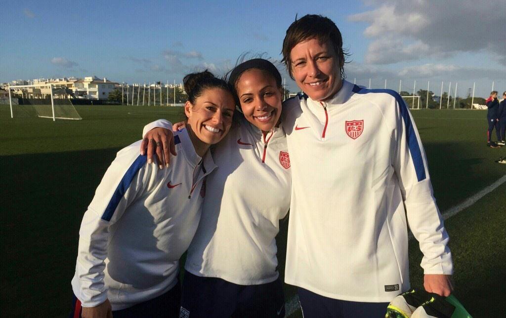 U S  Soccer WNT on | USWNT | Abby wambach, Sydney leroux, Soccer