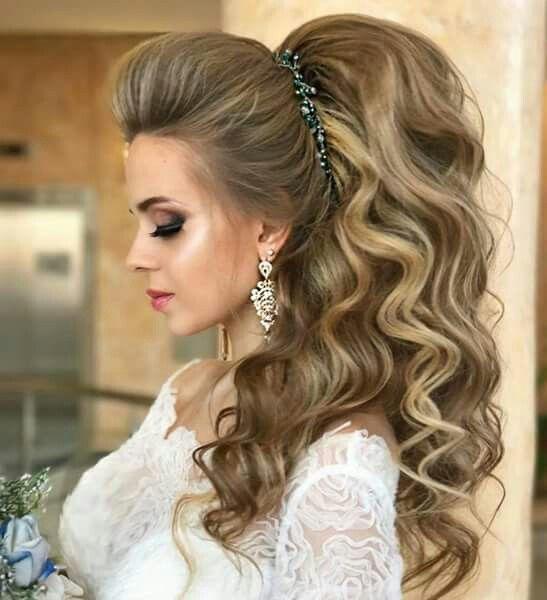 Pin De Marisol Castro En Peinados Para Novia Peinados De