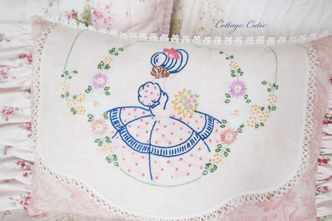 Southern Belle PIllow SOLD