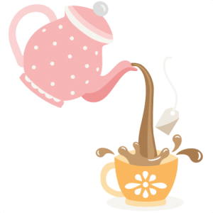 pouring tea pot svg cutting files for scrapbooking cute files cute rh pinterest com tea party clipart tea party clip art images