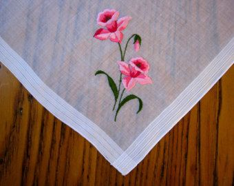 Celebritees Vintage Handkerchief Unused Vintage Hanky With